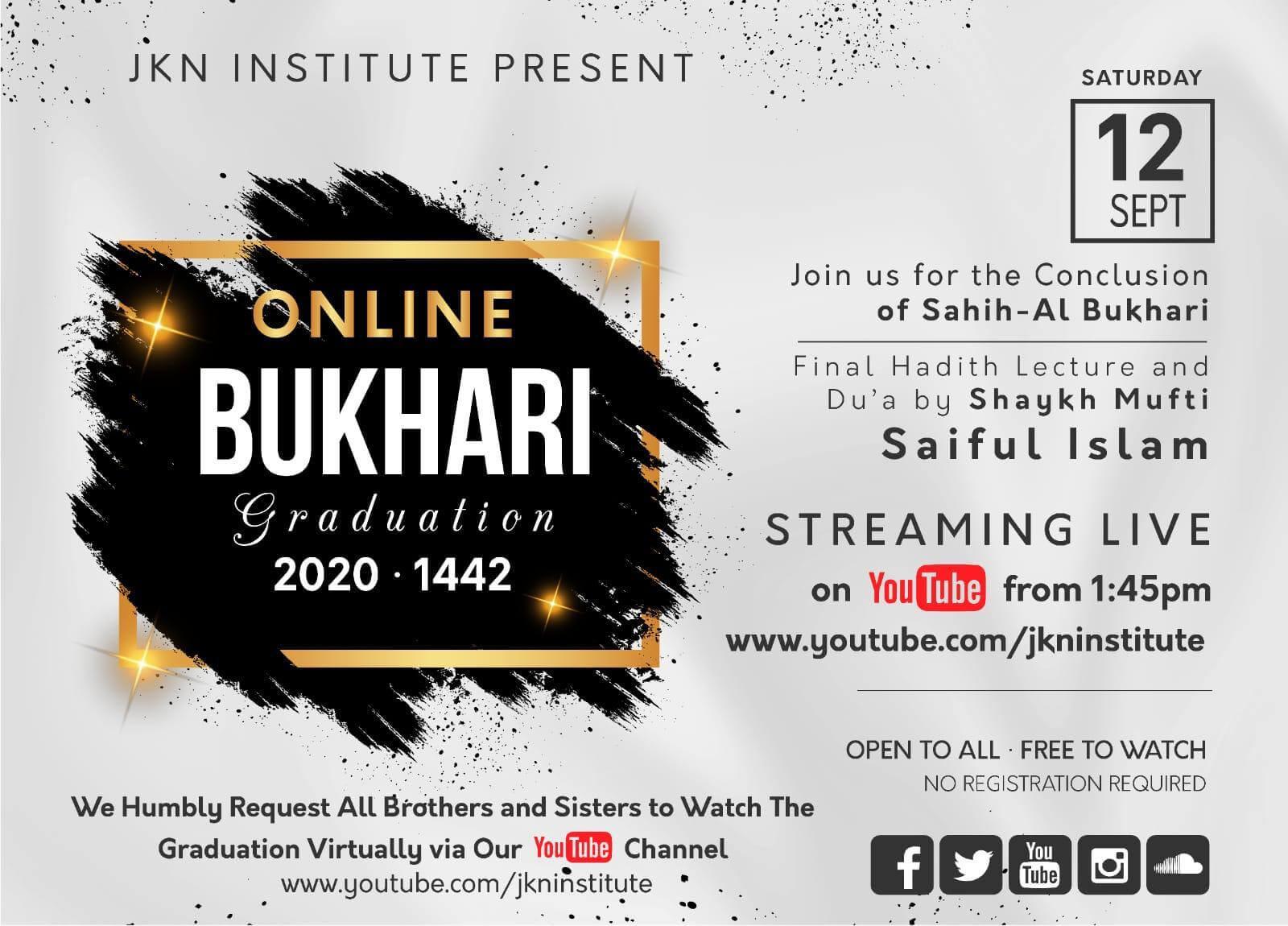 Online Bukhari Graduation Mens