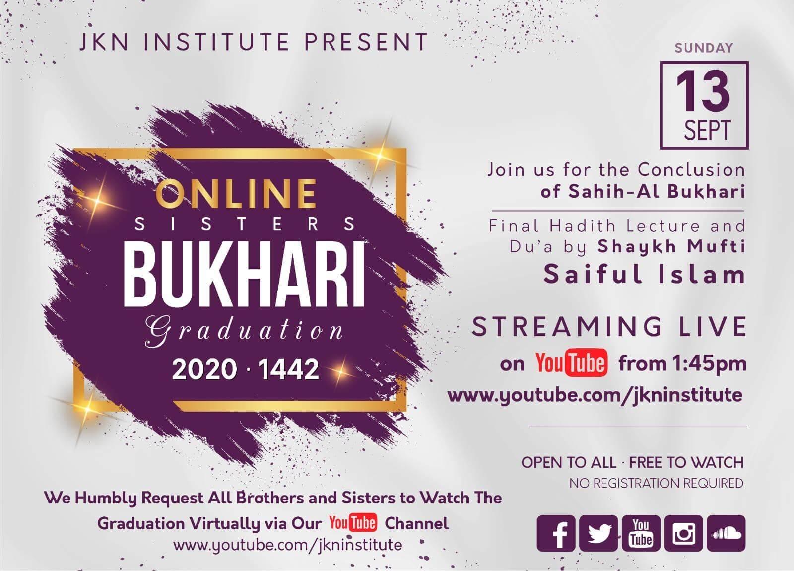 Online Bukhari Graduation Sisters
